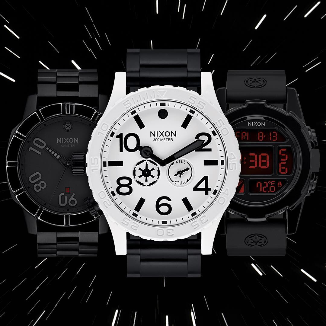 Available Now. @StarWars | #Nixon. #NixonNow #TheForceAwakens #DarthVader #StarWars #ForceAwakens #StarWarsTheForceAwakens