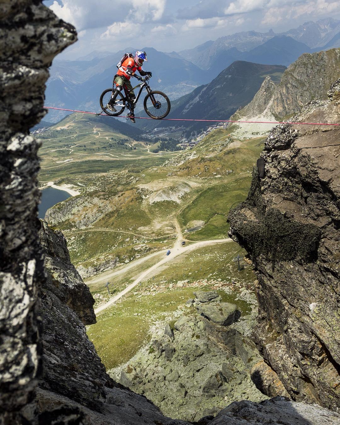 Life is like riding a bike. To keep balance, you must keep moving.