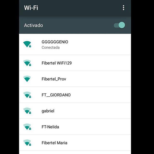 Mmmmencontré un wifi... Otra de esas cosas que uno hace cuando está al pedo.  #wifi #Vacations #HomeAlone #EstoyAlDope #GGGGENIO
