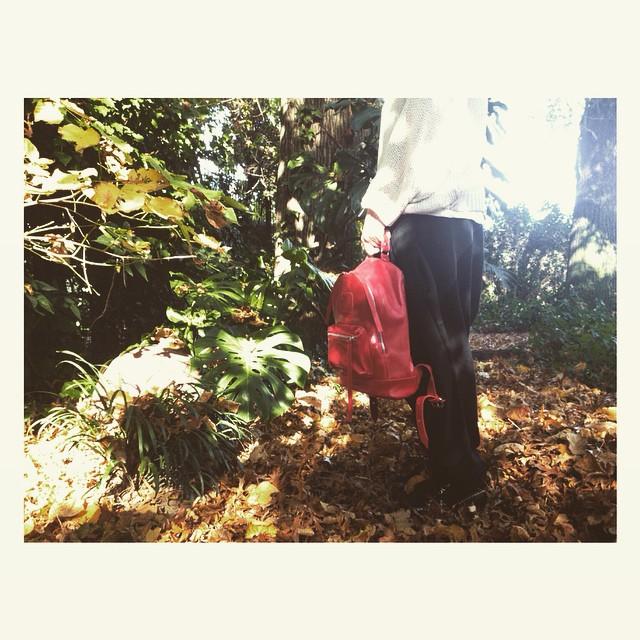 Últimas mochilas rojas