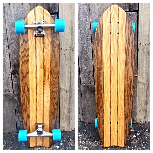 Snatch up this beautiful board before someone else does. Simple and clean - just the way we like it!