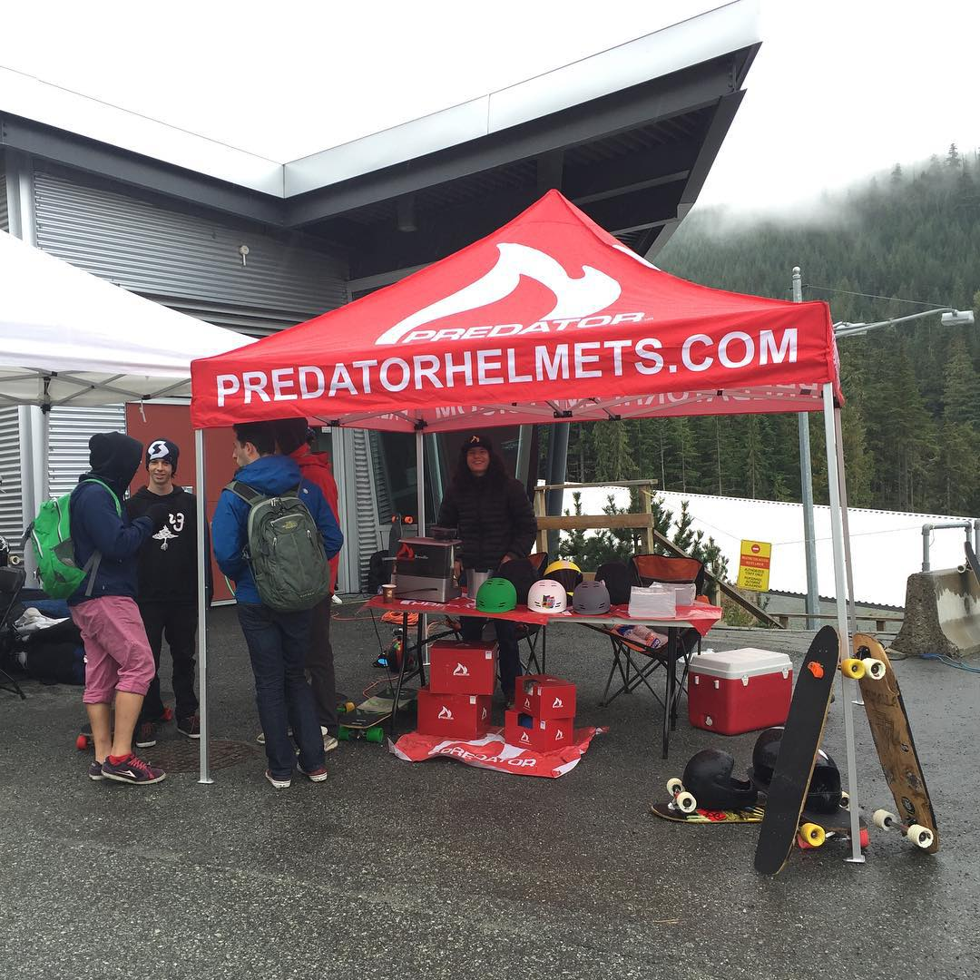 We're here at the whistler sliding centre for the 5th annual @whistlerlbfest be sure to come by and get some free espresso shots!