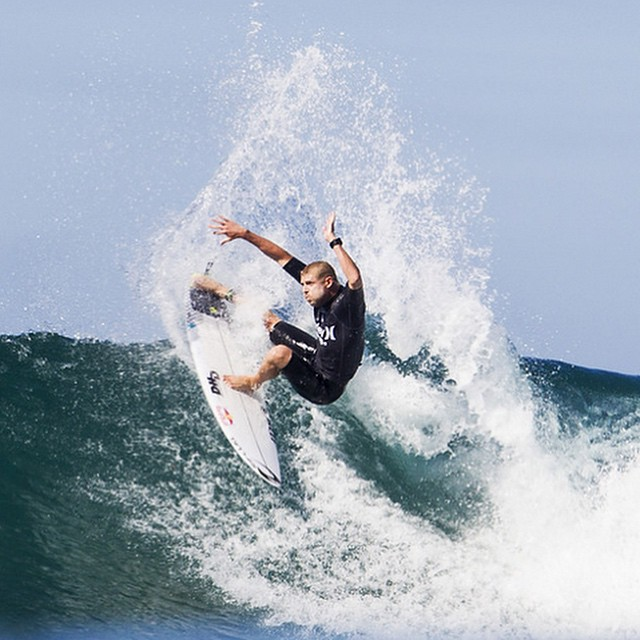 Trestles Pro men's final starts soon, so watch @mfanno blast his way towards the podium against Adriano De Souza. Who do you think will take it home today?  Whoever does will be #1 in the world heading into final leg of the WSL Tour. #gomick...