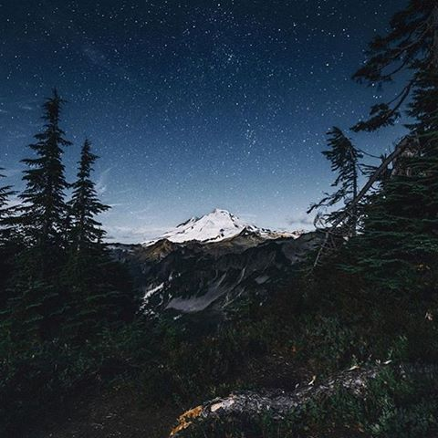 Mt. Baker is a jaw dropper #NatureOfProof Photo by @chriskerksieck