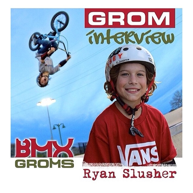 Team rider @ryanslusher just got an interview with @bmxgroms ! Go check it out and follow them! @ryanslusher @ryanslusher @bmxgroms @bmxgroms #bmx #fdvclothing #riderowned #bmxgroms
