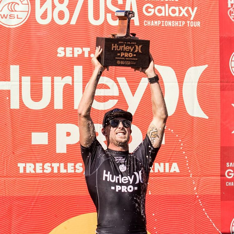 Ladies and gentlemen, your 2015 Lowers Pro Champion and new @wsl Tour Leader! Congratulations @mfanno!