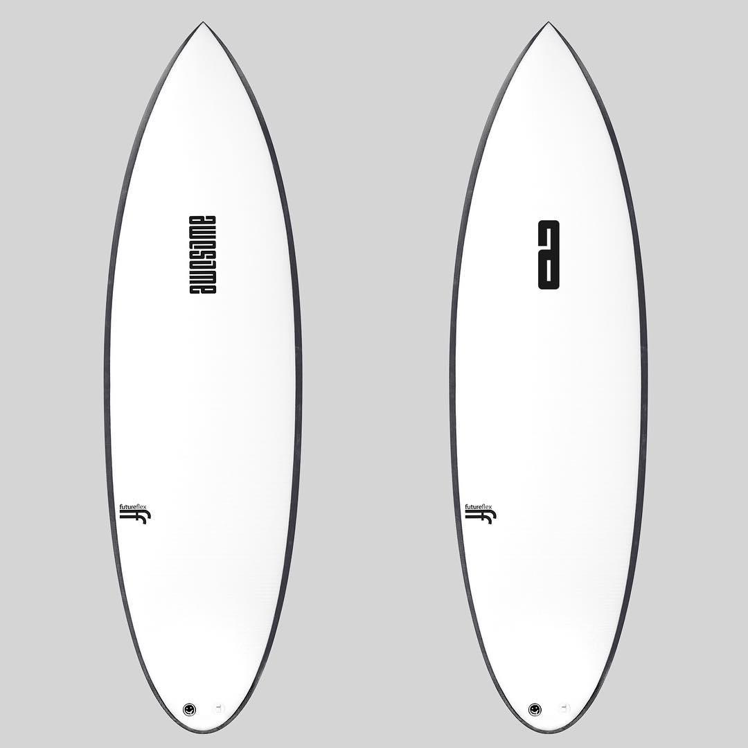 AWESOME or A , choose between two logo options for custom orders #awesome #awesomesurfboads #surf #surfing #shredsleds #A