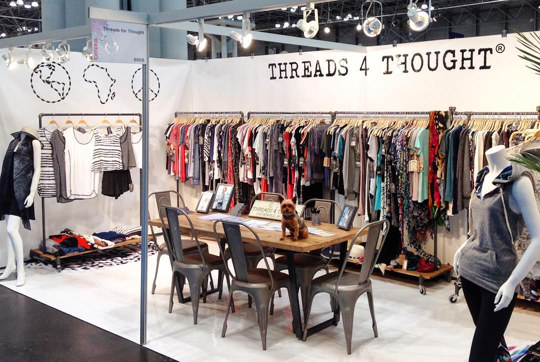 Check out our sustainable Threads at - ⓒ ⓞ ⓣ ⓔ ⓡ ⓘ ⓔ -  Booth #6806 @enkcoterie @javitscenter #coterie #livesustainably #fashion #NYC
