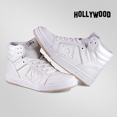 Hollywood White - Estilo e conforto para todas ocasiões. Disponível nas melhores lojas de todo o Brasil e na #qixskateshop.com.br #qixskate