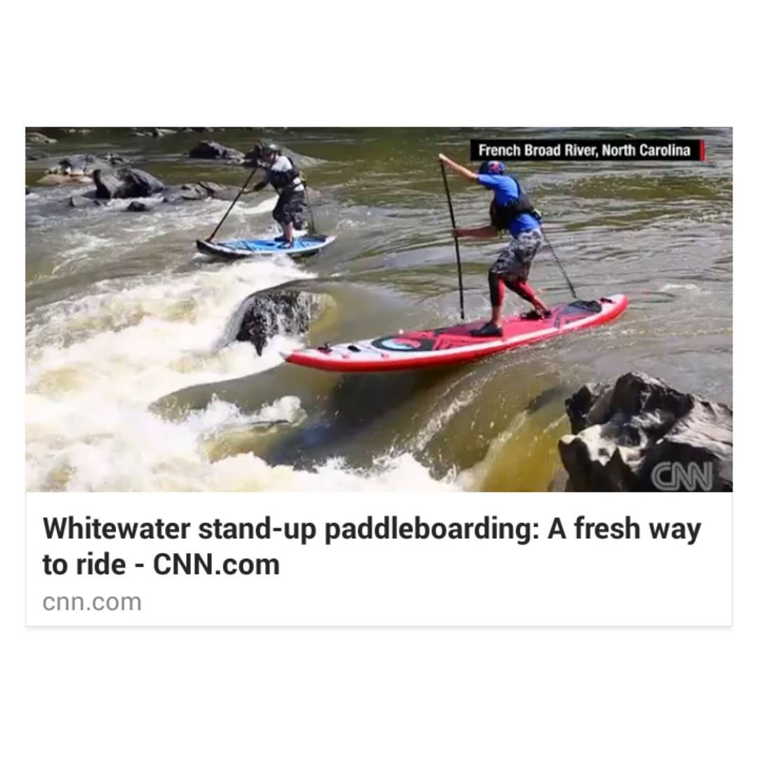 Team rider @jacknife28 showing off some #whitewatersup action on #CNN!  Www.CNN.com/2015/09/03/travel/whitewater-stand-up-paddleboarding-feat/index.html  #halagear #halanass #HalaAtcha #whitewaterdesigned #adventuredesigned #inflatablesup #isup #sup...