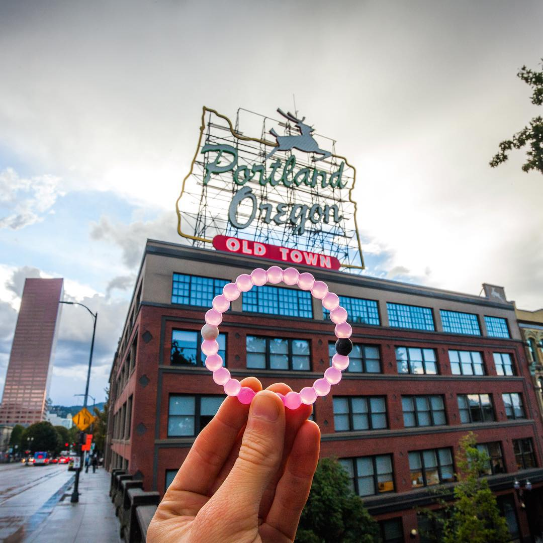 We're coming for you Portland! Pre-sale pink begins again tomorrow! #lokaihero #livelokai  Thanks @michaelmatti