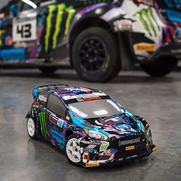 Available very, very soon (like next week soon): this new signature HPI Racing WR8 1/8th scale RC car, in my 2015 intergalactic race livery. Stoked to hoon this thing around here in Utah! These are so ridiculously fun. @hpiinstagram #8thscale...