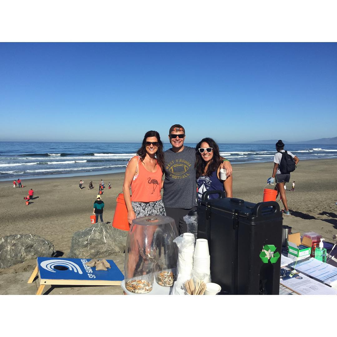Happy International Coastal Cleanup Day 2015! Waves, babes, & trash fun in the sun being served up right here! #internationalcoastalcleanupday #coastalcleanupday