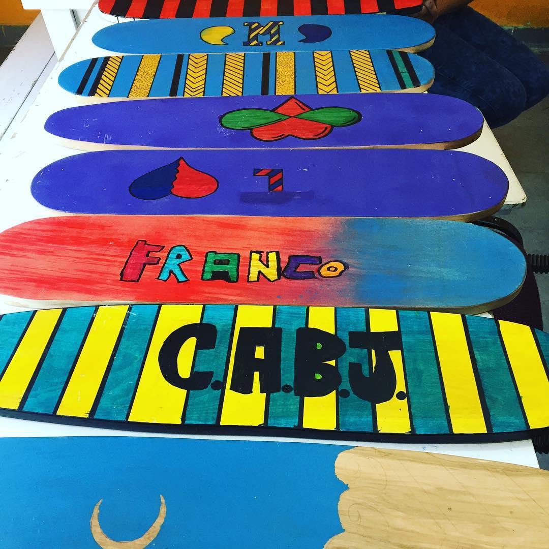 De colores seguimos! #skate #Deslizate