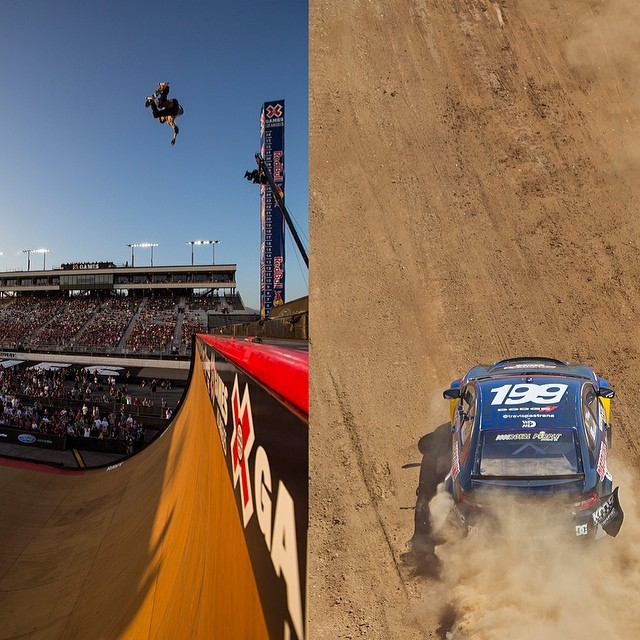 Would you rather drop in for Big Air or race in RallyCross? #xgames