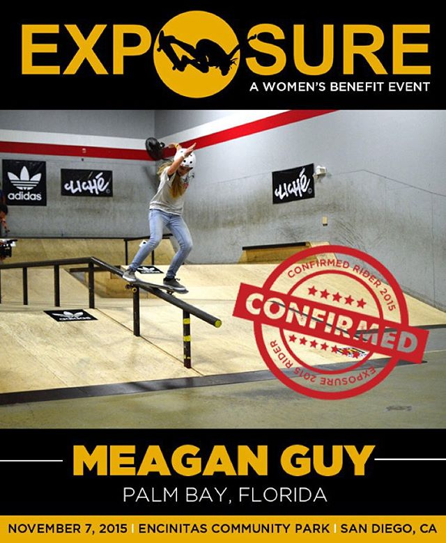 Meagan Guy (@_meaganguy ) confirmed for EXPOSURE 2015!