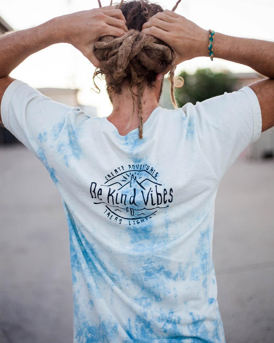 ~ Indigo Capsule ~  We've got just couple of the men's hand dipped indigo dyes in medium left.  Made in America from Texas grown organic cotton. They're not up in our website, so email us at bekindvibes@gmail.com to snag one before they're gone!...