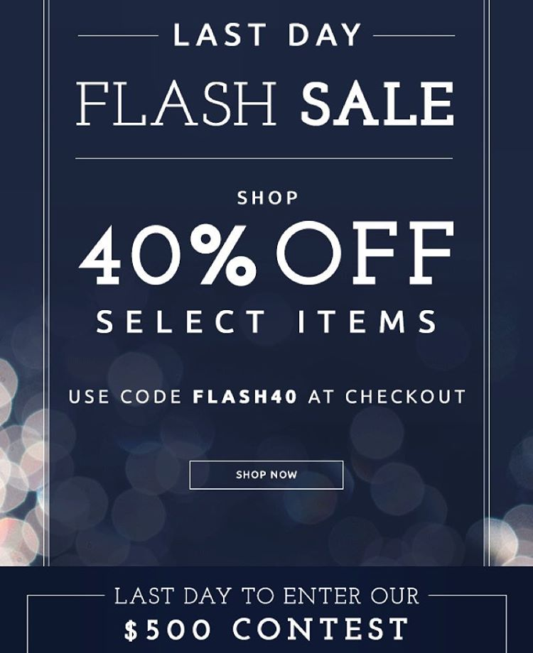 Happy #Sunday! Don't forget to #shop our 40% off flash sale & enter our #contest for a chance to #win $500 to Threads 4 Thought. #sale #contest #livesustainably  40% off flash sale:...