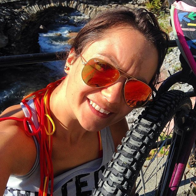 #dontgosummer… mountain biking in bikinis won't be the same without you