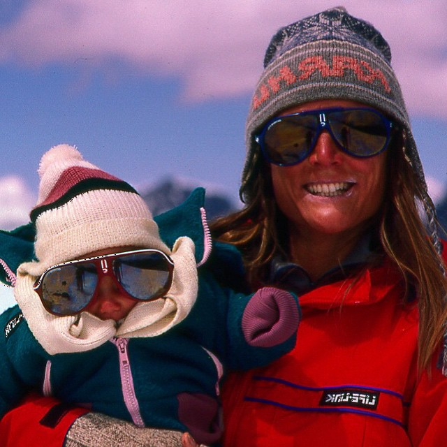 Happy Birthday to my mommy! Ever since our first family adventure when you and papa took me to climb the highest peak in southern Peru, you have taught me to see life through oversized rose colored glasses - or perhaps pink!!?