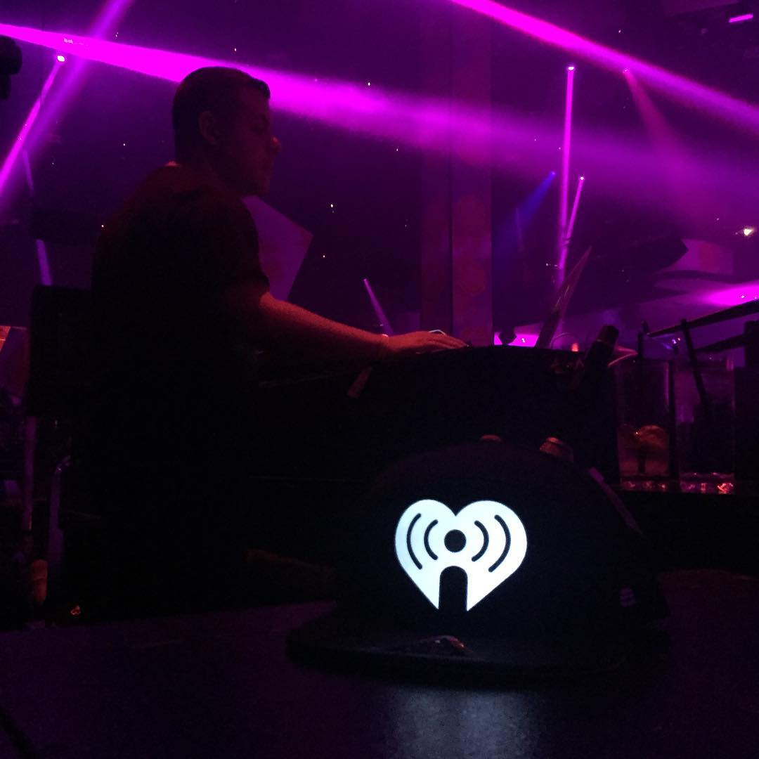 Lighting up the @iheartradio Festival in Vegas #iheartradio