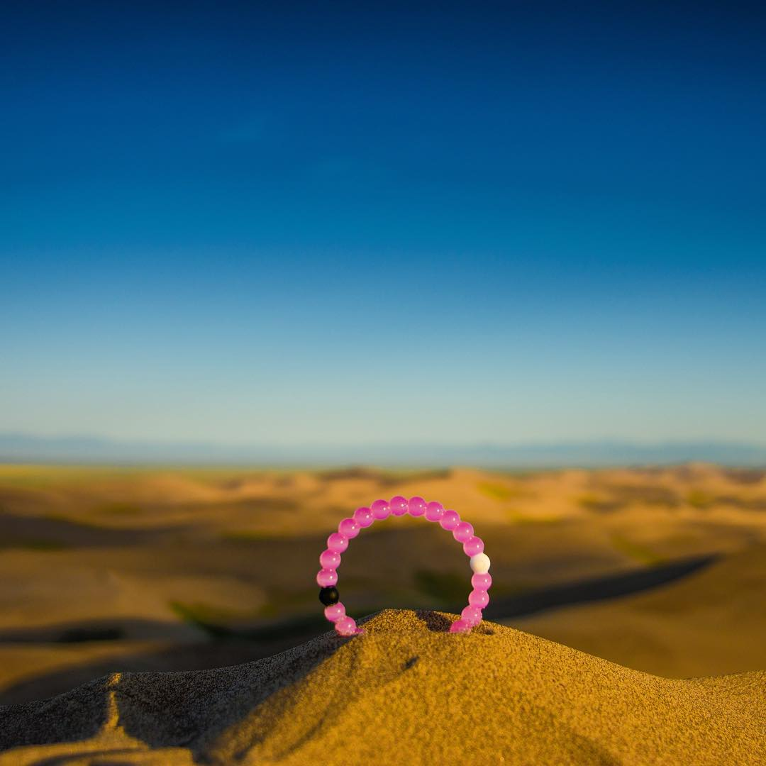 Today's pre-sale pink ends at 12am PST!  You can catch us in Orange County on Sept. 27th for our final pre-sale day.  We officially launch pink on Oct. 1st! #lokaihero #livelokai  Thanks @davie8thebaby