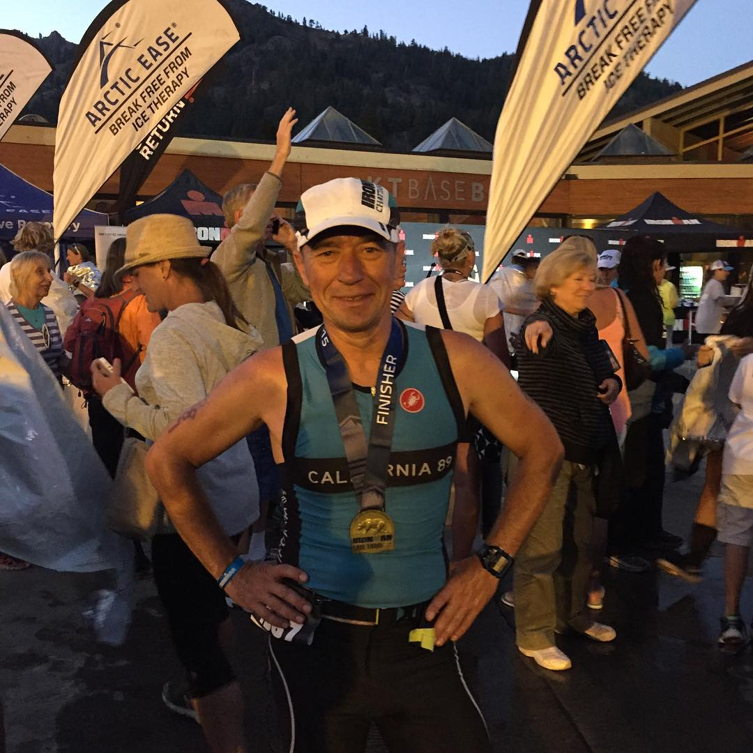 Congrats Seva Fridman!! You rocked Ironman Lake Tahoe!