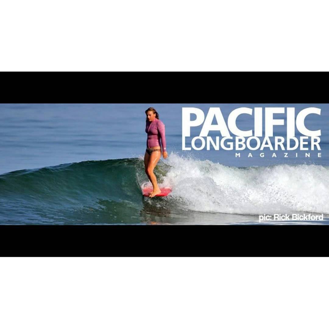 #akelasurf rider Kaitlin Maguire @kaitlin_maguire on @pacificlongboardermagazine #style