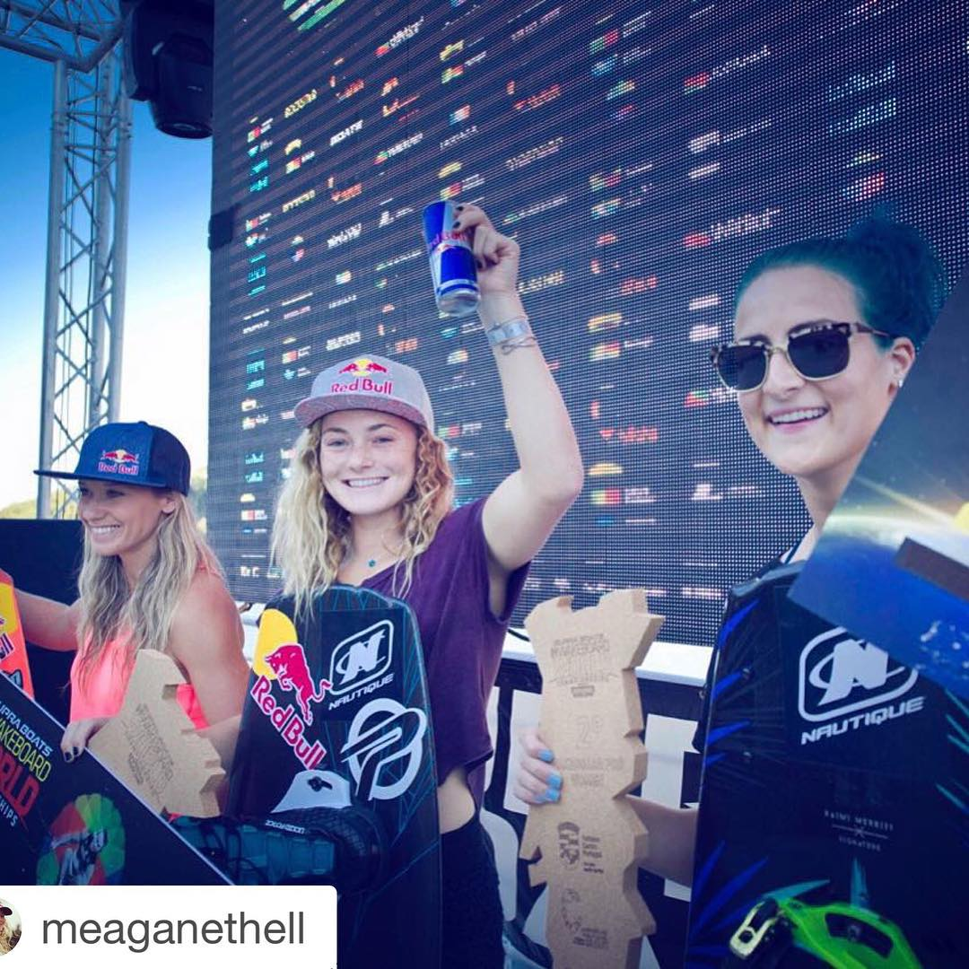 Congrats @meaganethell! ・・・ Super stoked to take the win this weekend at Worlds! It's been such an amazing season, and I'm so thankful for everyone for all the support. Especially thanks to @thewwa for putting these sick events on for us!...