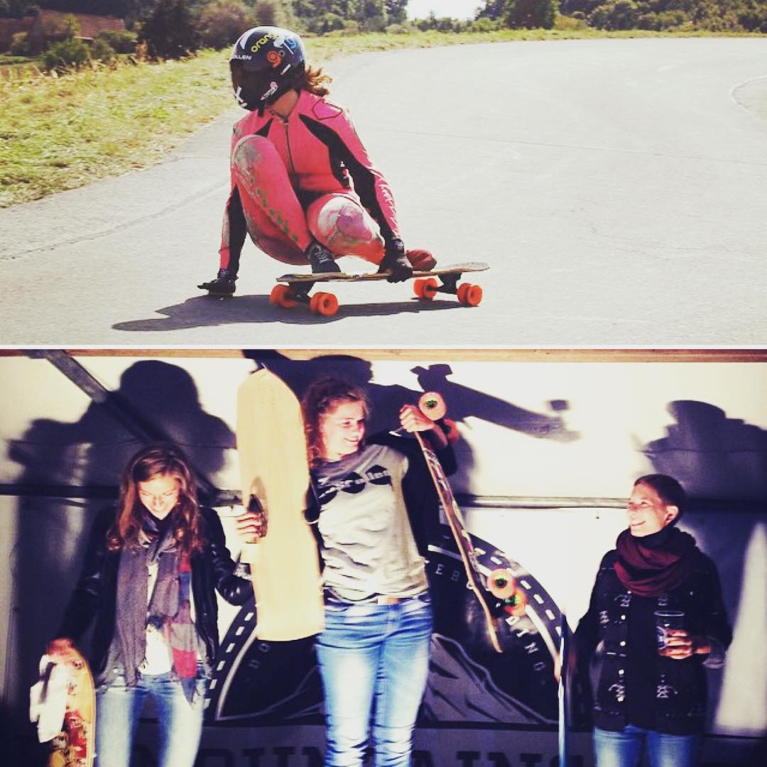 More weekend podiums! Meanwhile in Europe, @iconelongboards riders took over Womens' division during Loralo's race in Austria!  1. @glorifiziert  2. @corivacation  3. @susanheine  There's no way we could be more stoked on this podium.... Ahhh!! We love...