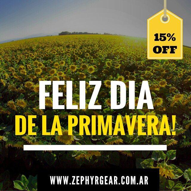 Aprovecha esta primavera, y llevate cualquier #ZephyrPole con un 15%OFF !!