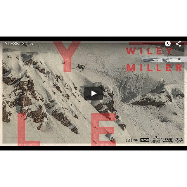 Monday morning wake up call. #yleski2015 is here by @wileymiller. Head on over to his website to peep 3:31 mins of extraordinary skiing. Link in our bio.