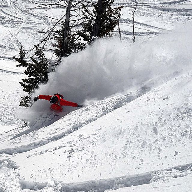 @jpmartin_fun slays some pow at @jacksonhole.  #winteriscoming #jhdreaming  #avalon7 #liveactivated #snowboarding www.avalon7.co
