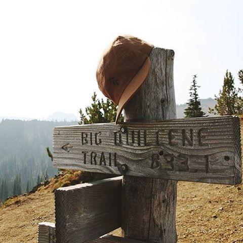 T A K E  A  B R E A T H E R ! Always fun to see our trail arrow hat on the trail arrow itself