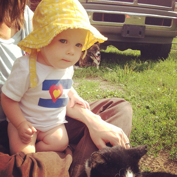 On the farm! #bigcoloradolove