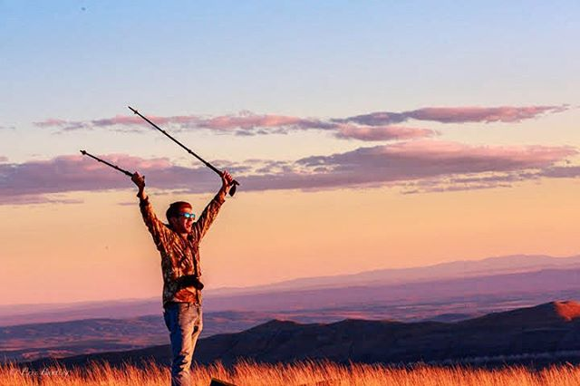 Make Monday rock #LiveLifeOutside  PC: @elbunt adventuring in Wyoming