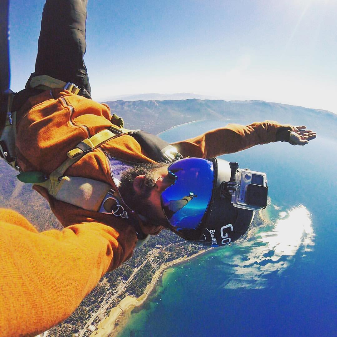 @mikeescamilla giving the Jetpack snow goggle a different angle on @skinorthstar in Tahoe. #VonZipper #SupportWildLife