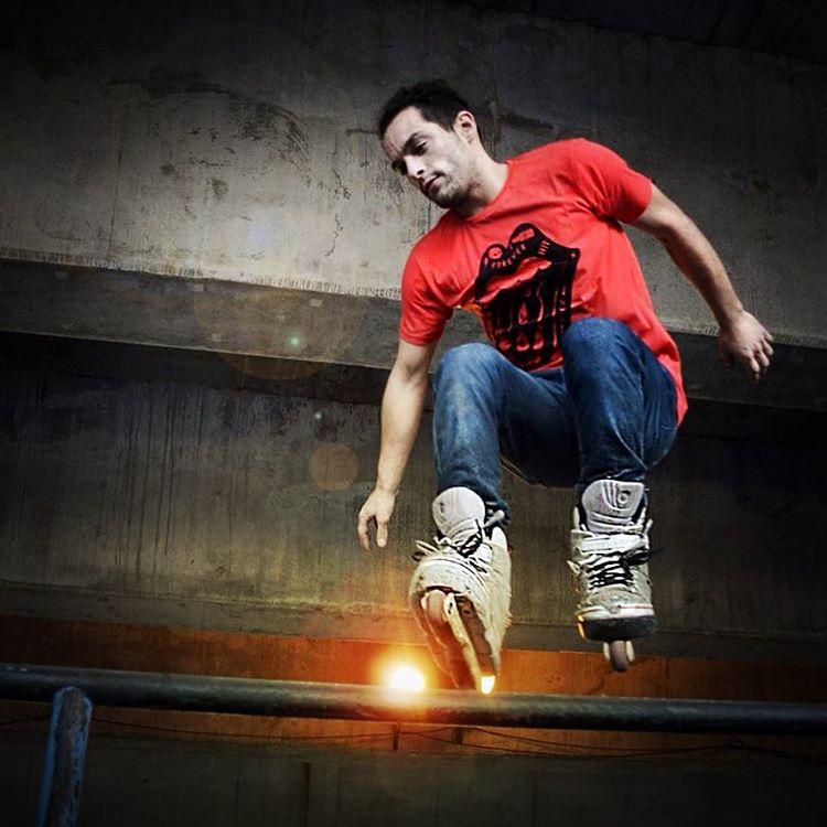 Skatepark Rider FUKU-DO #skatepark #salto #roller