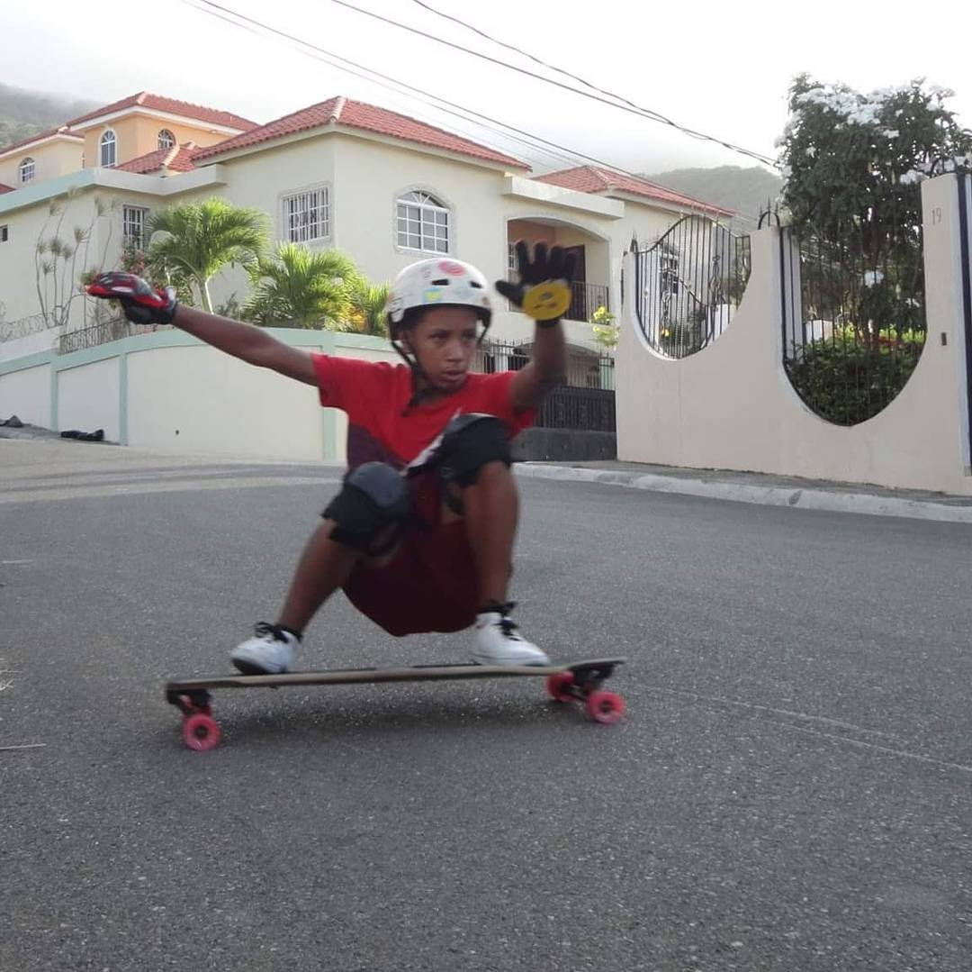 "@jona8skate A.K.A ""El Menor"" from #PuertoPlata has been kicking ass everyday with less than a year skating and keeping it #holesom"