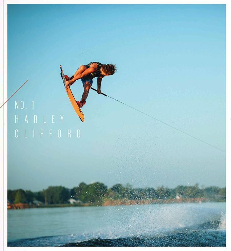 Throw it up for your boy @harleyclifford who won the @wakeboardingmag #ReadersPoll again this year! @rustymalinoski 3rd / @bobsoven 4th / @melissa_marquardt 3rd in Women! #wakeboarding Photo as seen in the latest issue by @blurryphotos
