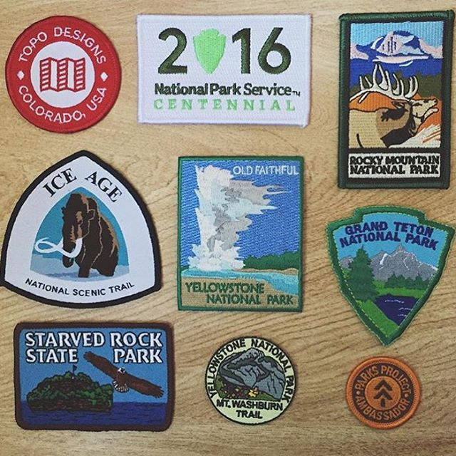 P A T C H  I T  U P ! Something feels special about a crispy new patch, @grantwhitty is starting up a collection and it will only get better with time. Featured friends @topodesigns @goparks @yellowstonenps @grandtetonnps @rockynps...