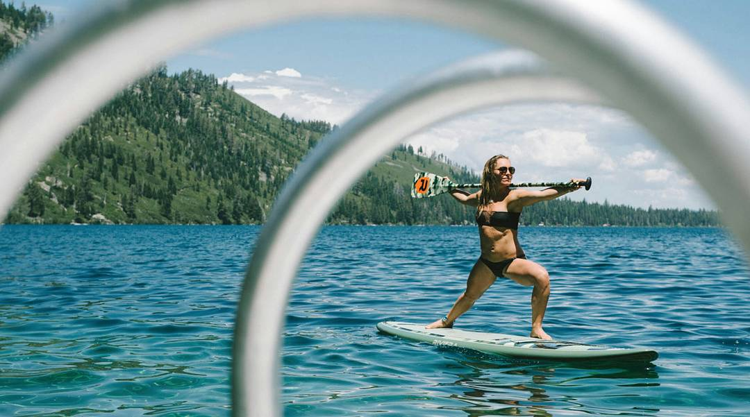 Four-time #XGames Snowboard Slopestyle gold medalist @JamieAnderson had an amazing offseason in South Lake Tahoe, Calif.  Head over to XGames.com to check out @KariRowe's gallery!