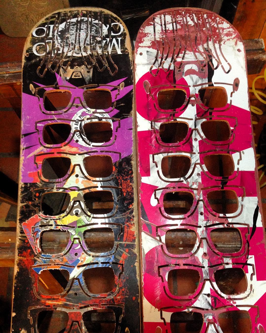 Un poquito de color y de los nuevos anteojos reciclados que se vienen!!