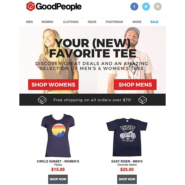 We are stoked to be included in @goodpeoplecom Top 10 New Favorite Tees! And for our international buyers, Good People is the place to go for low shipping prices for our product. #goodpeople #concretenative #top10 #tee #realshitforrealpeople #skatelife...