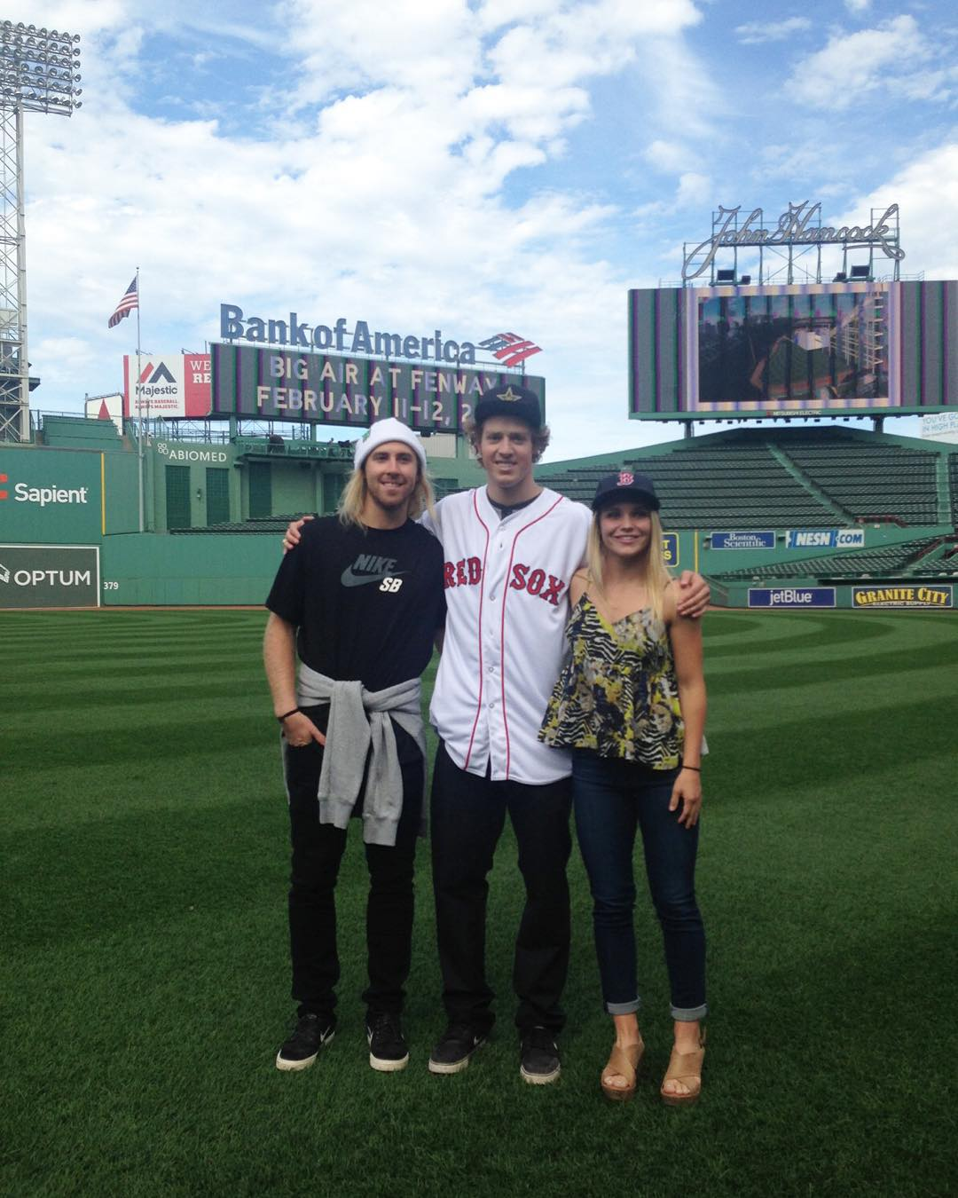 #XGames silver medalists @SageKotsenburg and @JossChristensen are going to throw out the first pitch at tonight's Red Sox game!  Boston will take on the Tampa Bay Rays at 7:10 pm ET.