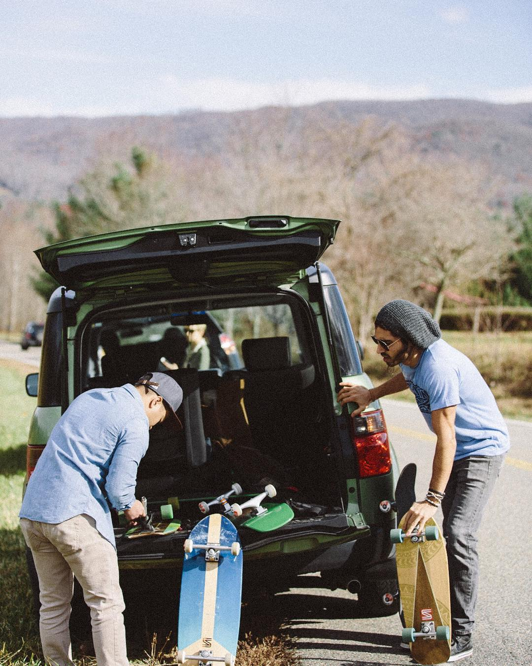 The deeper we get into the week the more we want to roadtrip.