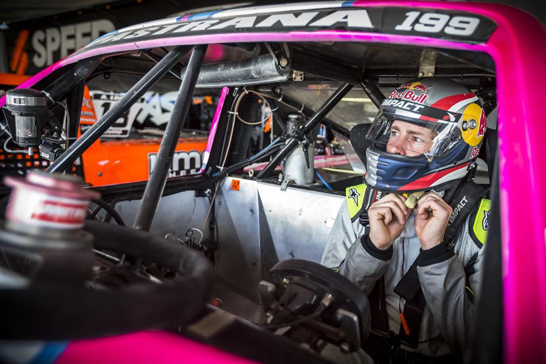 11-time #XGames gold medalist @TravisPastrana is going to race in @NASCAR's Truck Series next Sat., Oct. 3 in Las Vegas! (