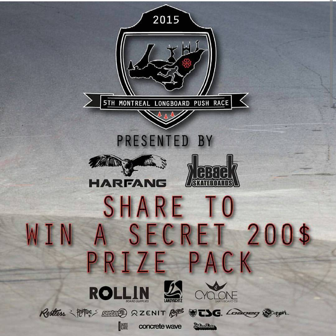 Share and tag #MTLpushrace2015 for a chance to win!