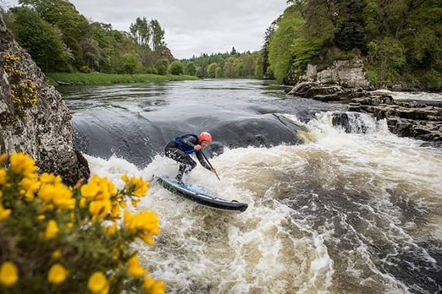 "Check out the @supthemag feature ""Water of Life."" Exploring SUP and whiskey in Scotland.  Photo: Aaron Schmidt #halagear #adventuredesigned #whitewaterdesigned #standuppaddle #Paddleboard #inflatablesup #isup #supthemag #theweeklyinsta"