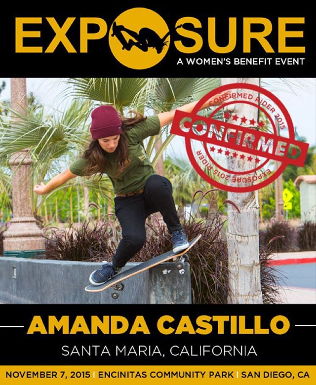 Amanda Castillo (@militant_23) confirmed for EXPOSURE 2015!